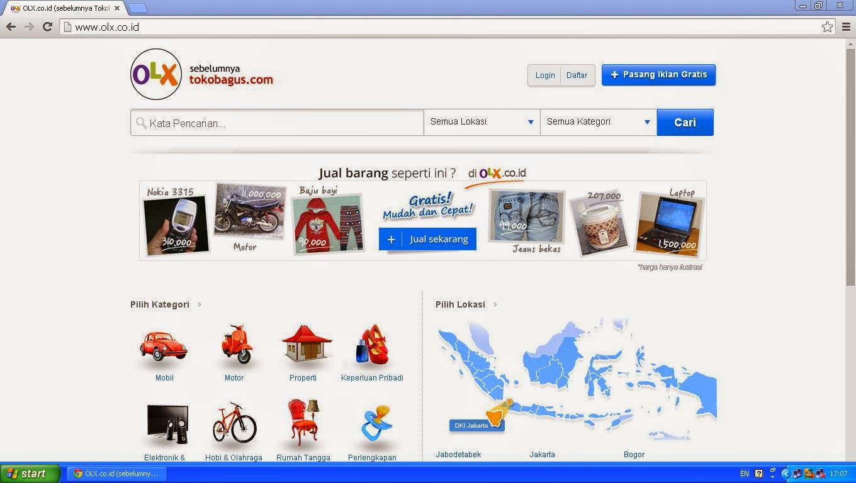 Welcome To My Blog Evaluasi Aplikasi E Bisnis Pada Web Olx
