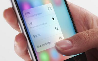 Samsung estaria en la busqueda se su propio 3D Touch