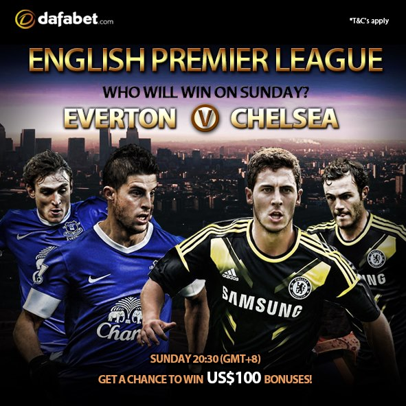EPL Promo: Everton v Chelsea Who will win on Sunday?