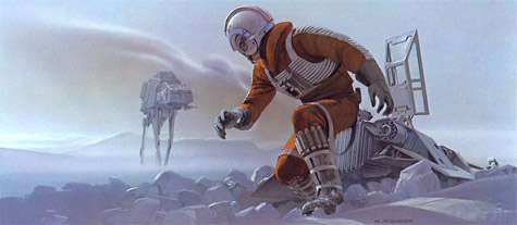 Star Wars: The Empire Strikes Back by Ralph McQuarrie