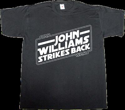 star wars fun john Williams useless sequel disney t-shirt ephemeral-t-shirts