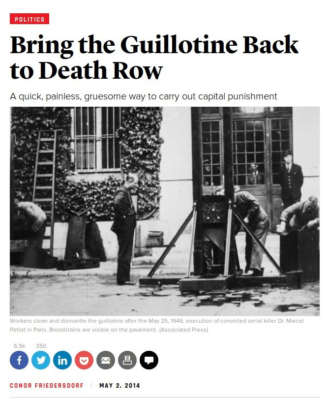 Noahide laws christians executed guillotines