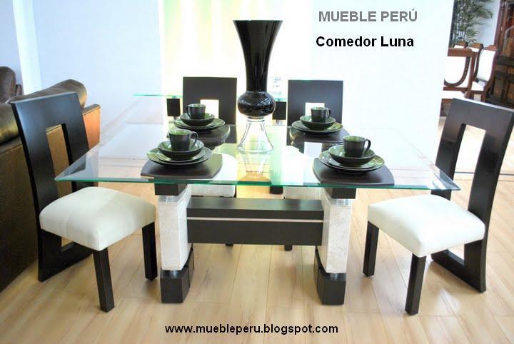Comedores muebles per comedores elegantes for Comedores finos