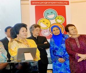 Rosmah Lancar Laman Beb Permata Berwajah Baharu