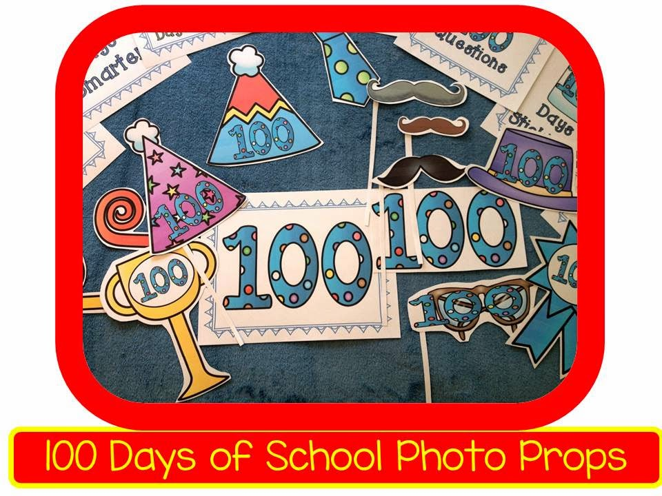 100 day photo props