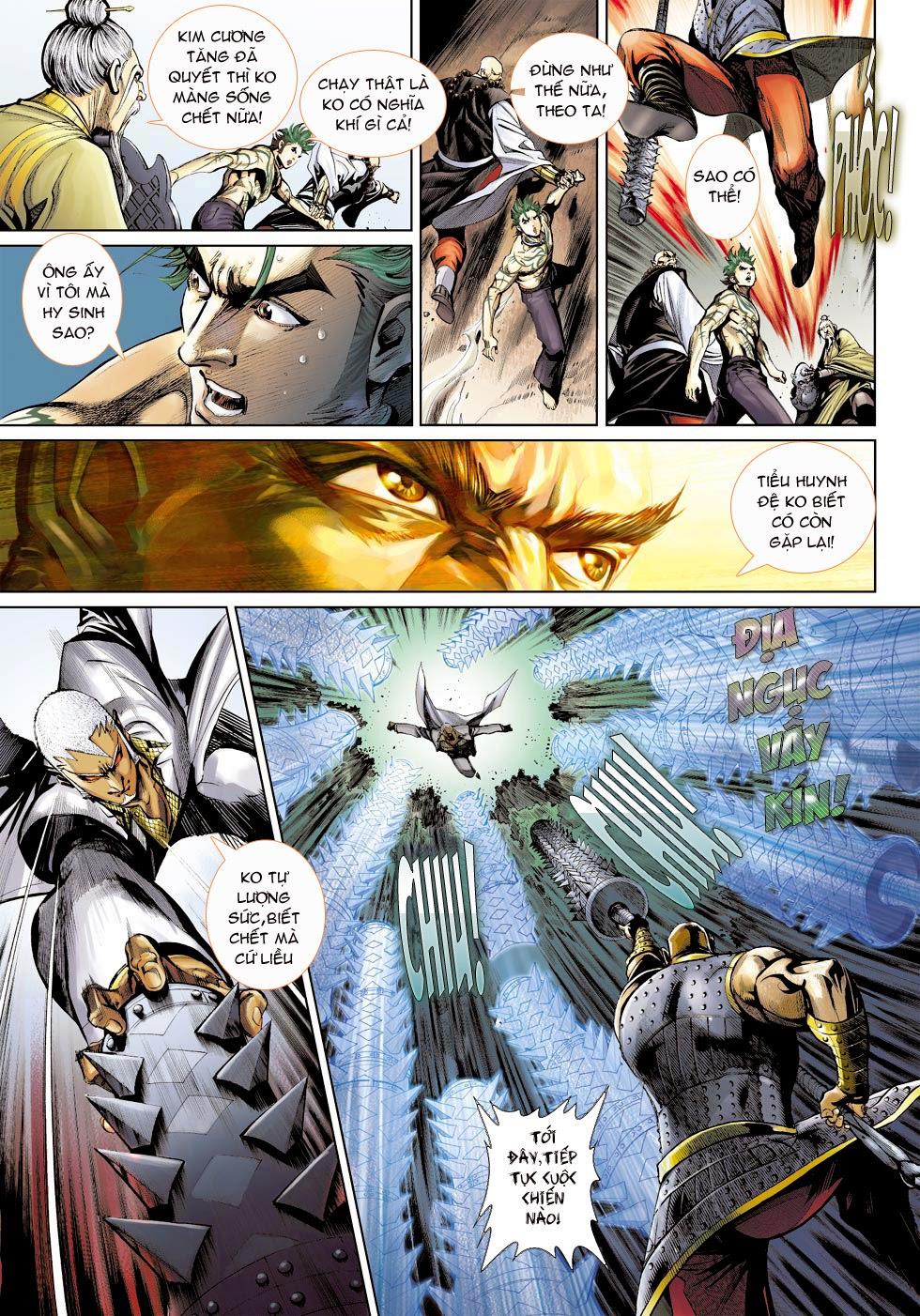 Thần Binh 4 chap 25 - Trang 21