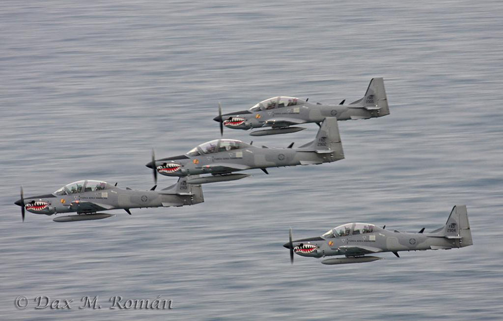 MIRAGEC14 USAF Again Selects Super Tucano For Afghan Air