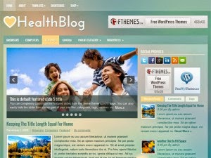 HealthBlog - Free Wordpress Theme