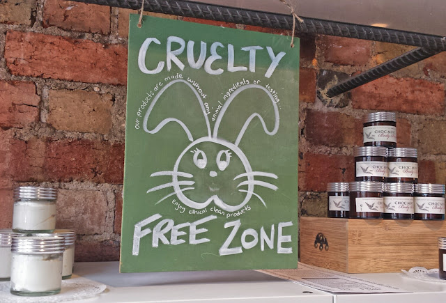 Cruelty free zone