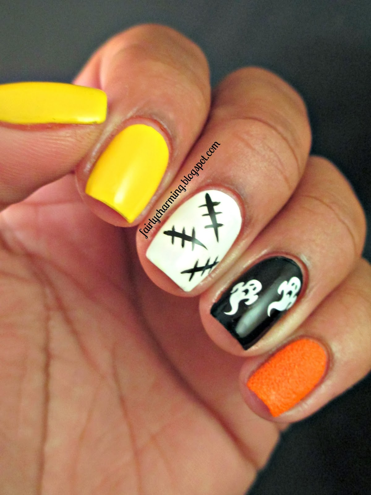 Fairly Charming: Candy Corn Spooks