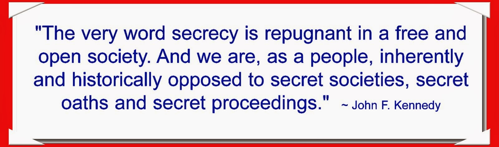 On Secret Societies