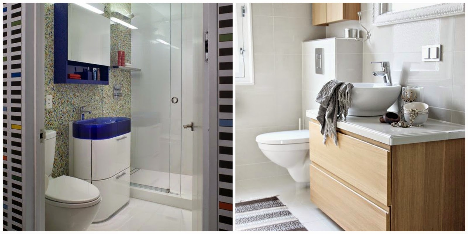 Ideias para decorar o seu banheiro Mari Beleza Pura #614830 1600x800 Banheiro Cor Ideal