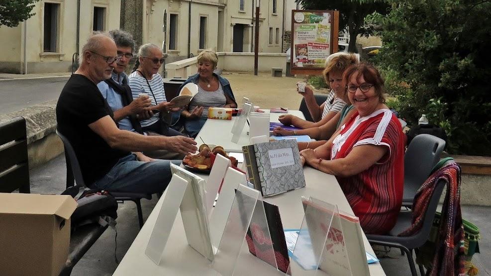 Saint-Drézéry -  Le premier atelier d'écriture - 2019-.