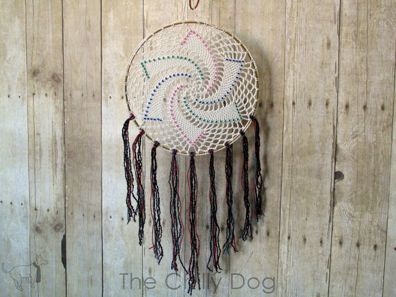 Beaded Dream Catchers Patterns Crochet Pattern Star Dreamcatcher The Chilly Dog 20
