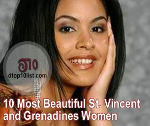 Top 10 Most Beautiful St. Vincent and Grenadines Women