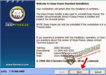 Cara Baru Uninstall Deep Freeze dengan Cepat