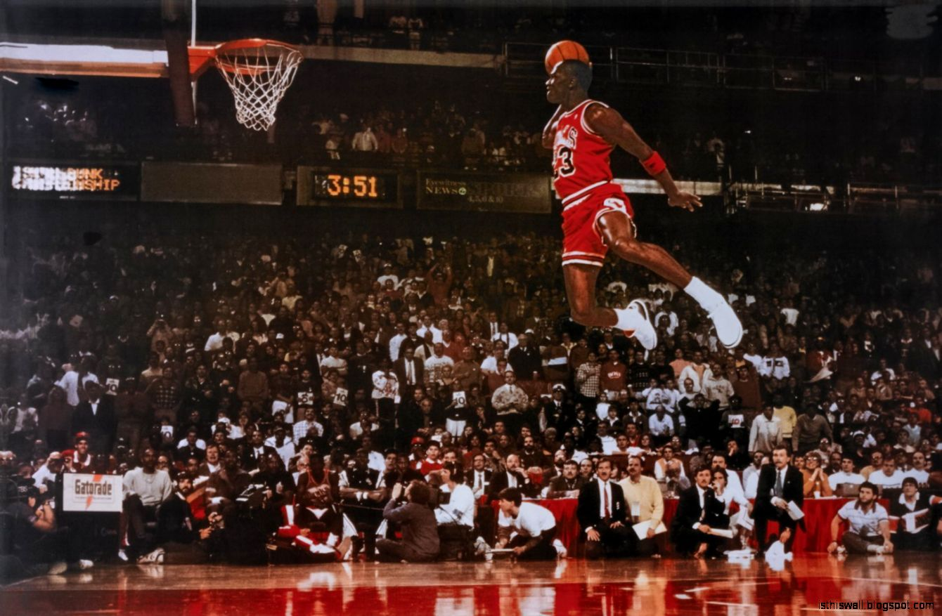The Real NBA Facts  Top 10 Michael Jordan Dunks Flight Video