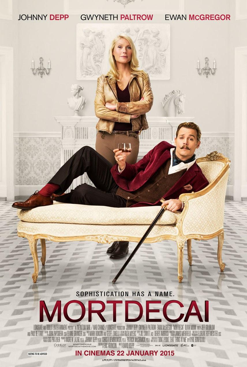 Mortdecai (2015) Poster