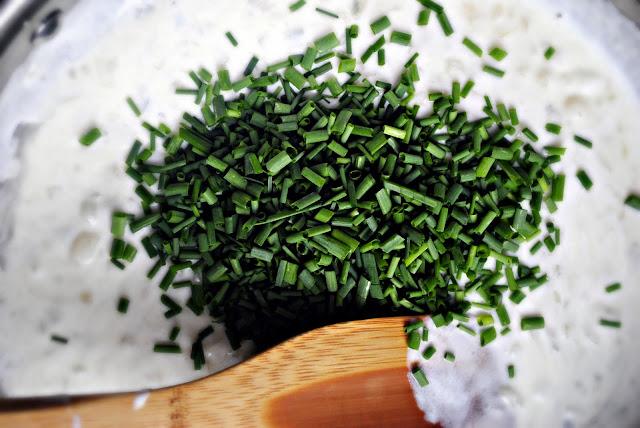 Lemon Chive Farfalle l SimplyScratch.com
