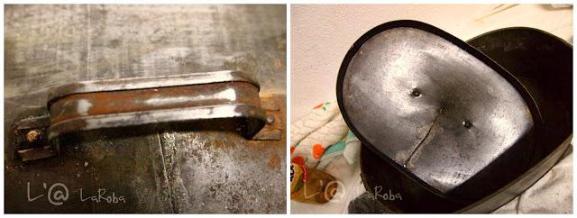 L 39 laroba recuperar una vieja caja met lica - Quitar silicona vieja ...