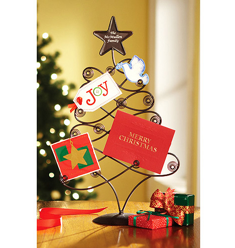 Merry Christmas Holder Tree card