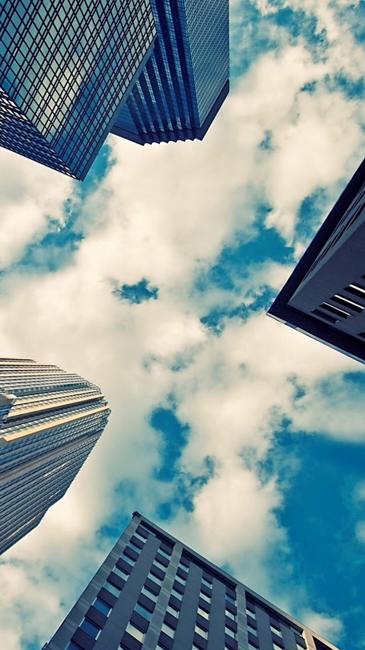 all android wallpapers metropolis city sky tall buildings android