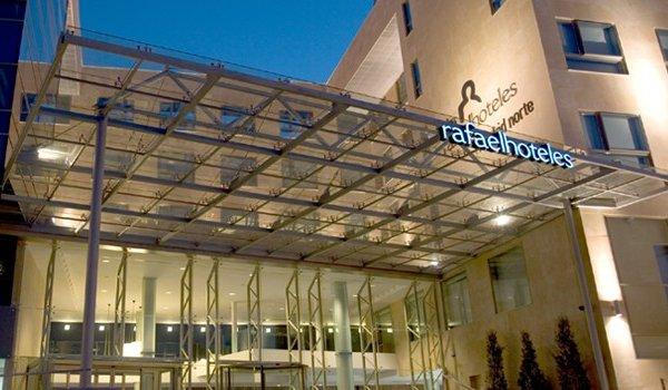 Fachada Rafaelhoteles Madrid Norte