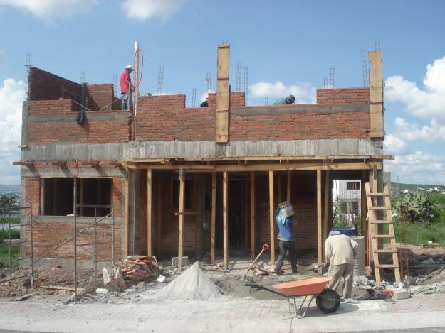 Construcciones zu iga for Casas de ladrillo visto fotos