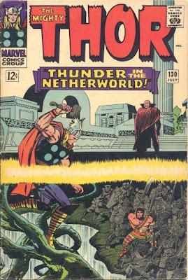 Thor #130, Hercules, Pluto, Hades