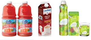 Free Ocean Spray, Lactaid, Glade and More