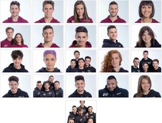 concorrenti amici 2016 in foto