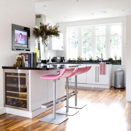 Televisin en la cocina