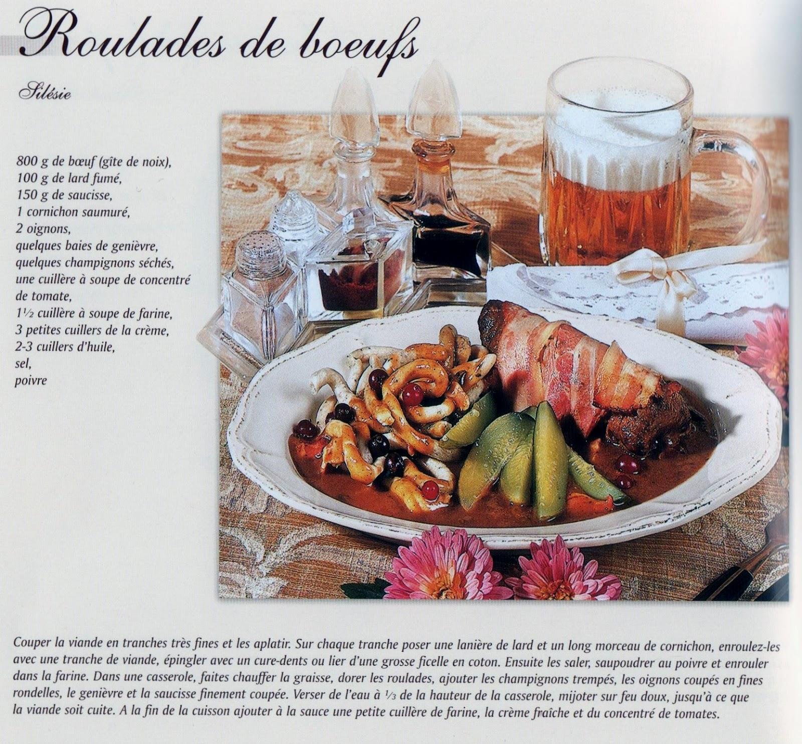 I n f 39 o b cuisine polonaise for Cuisine polonaise