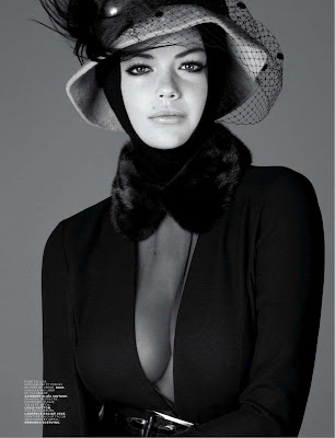 Kate Upton Covers Jalouse Magazine France October 2012 | Beautiful Female Photos