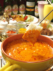 CURRY CHEESE FONDUE