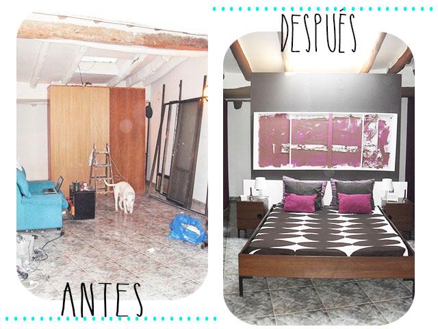 Diy antes y después'13: el dormitorio vestidor de yonolotiraría ...