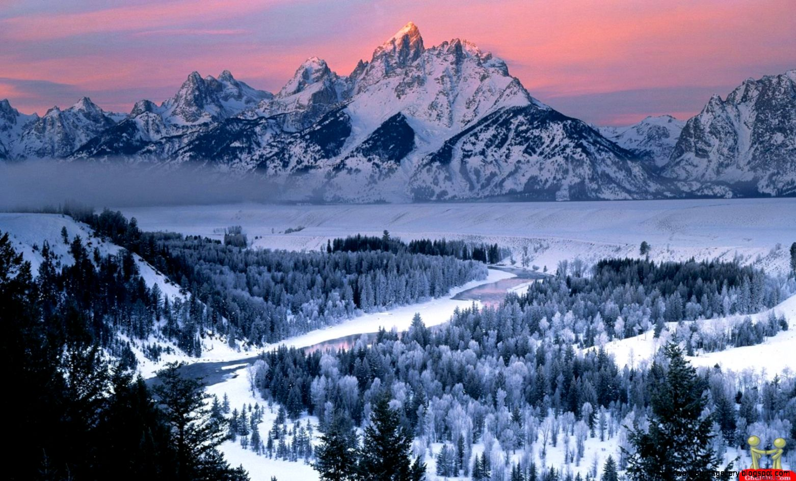 Beautiful snowy mountain pictures wallpapers gallery Beautiful snowfall pictures