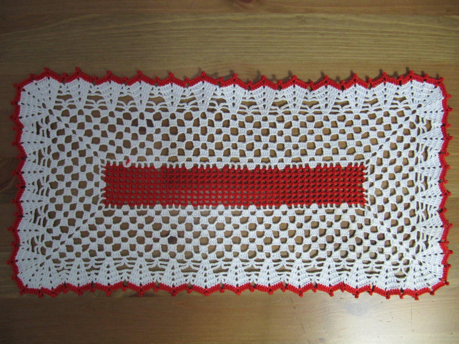 Labores de mari angeles nuevo tapete de ganchillo for Tapetes de ganchillo