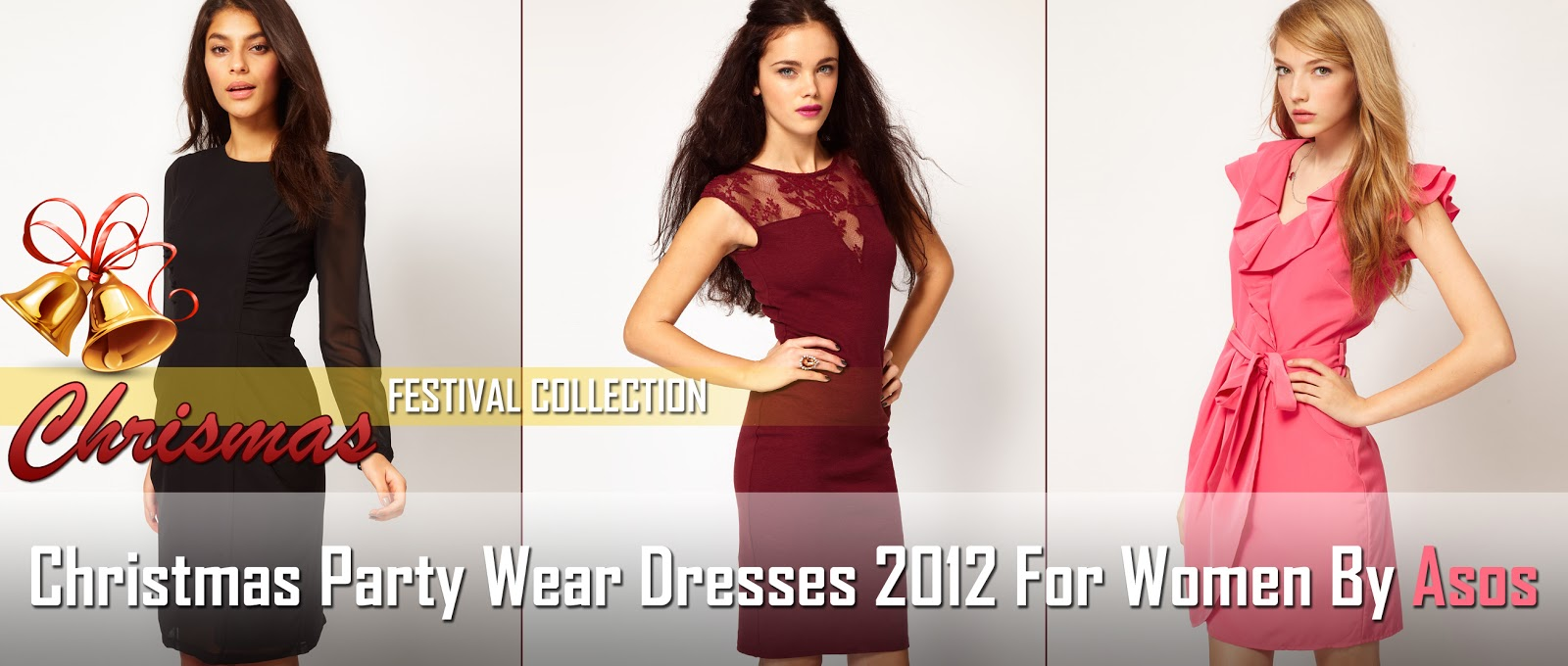 Christmas Party Wear Dresses 2012 | Women Outfits For Christmas ...