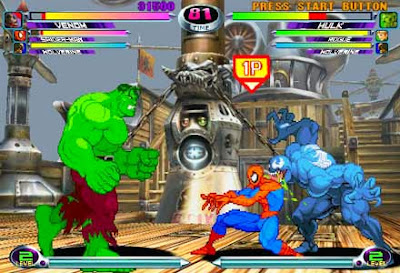 Marvel Vs Capcom 2 Portable