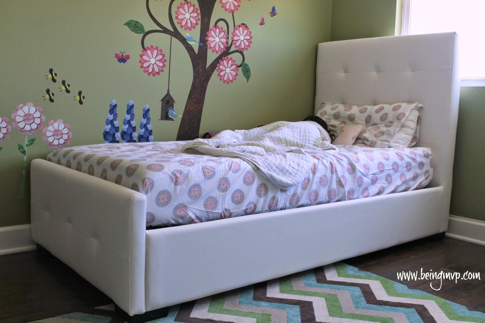 Stunning Kenzie us Room Makeover DHP Furniture Giveaway Disclosure I received a mattress frame