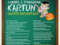 Lomba Kartun Santri Nusantara Hadiah Rp 200 Juta, 5 November 2015