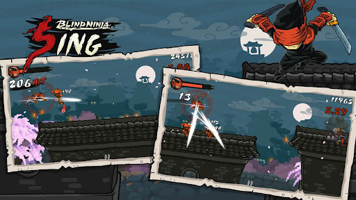 Blind Ninja :Sing Android operating system Activity FEATURES