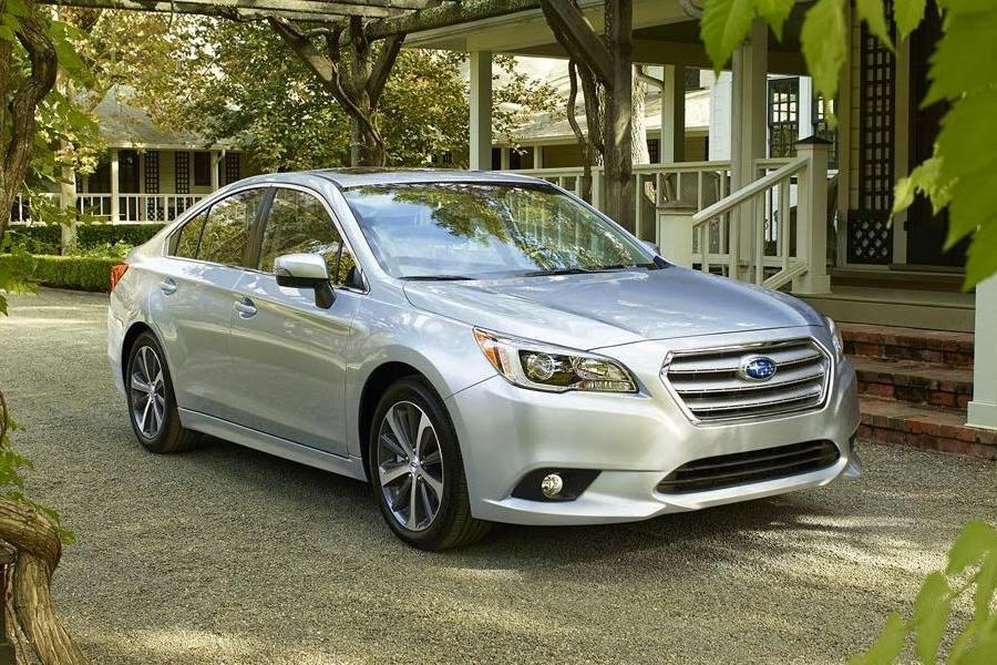 Subaru Legacy Saloon (2015) Front Side