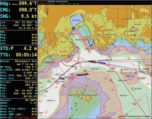 OSI  integrated navigation and tactical systems (all photos : OSI)