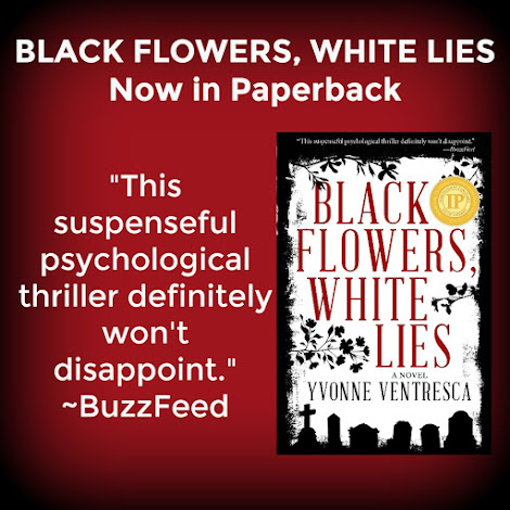 BLACK FLOWERS, WHITE LIES!