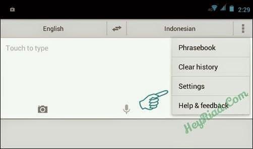 Cara Menggunakan google translate secara offline Android
