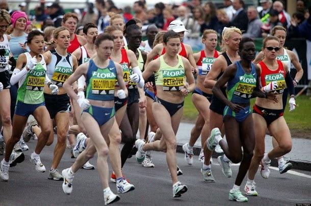 5 coisas que acontecem com o seu corpo durante uma maratona