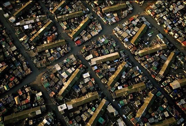 kawasan perumahan di Cape Town, Afrika Selatan