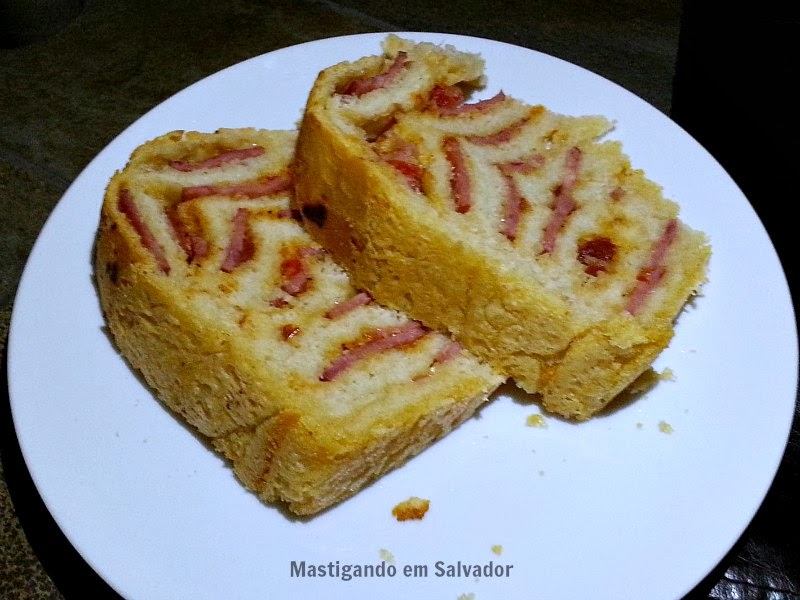 Pizzaria Casa de Pedra: Pão de Linguiça
